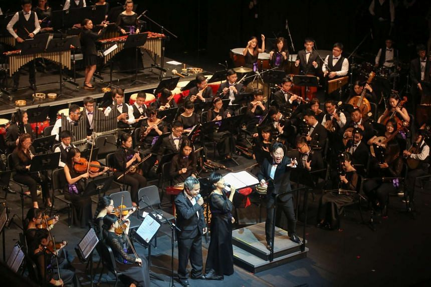 The Purple Symphony played to a sold-out crowd of 1,200 at its first ticketed concert on April 2.
