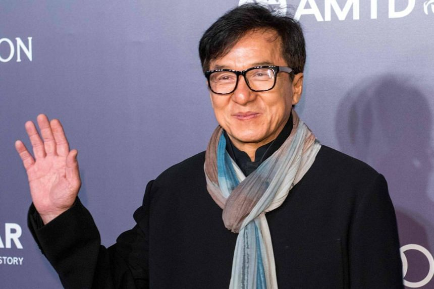 Elaine Ng and her lawyer said that Jackie Chan (above) refused to give her and their daughter Etta financial help.