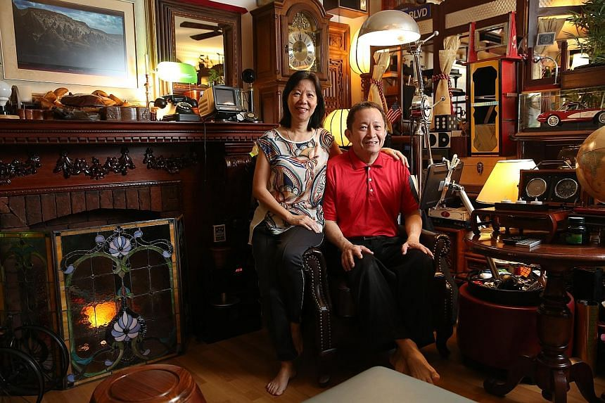 Mr Teh Ah Hock performed top-ups to his wife Julia's CPF Retirement Account in 2015 and last year from his CPF savings. He has also topped up his own Retirement Account. The couple want to achieve a financially secure future by ensuring higher monthl