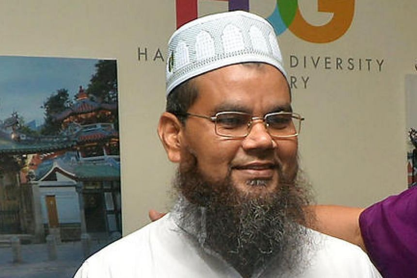 Mr Imam Nalla Mohamed Abdul Jameel apologised to a group of leaders from various faiths at a closed-door meeting on Friday (March 31).