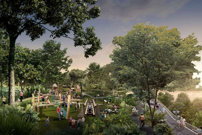 The Woodlands Waterfront will be enhanced with a new rustic park and a nature promenade, offering a more enjoyable waterfront experience for residents of the town.