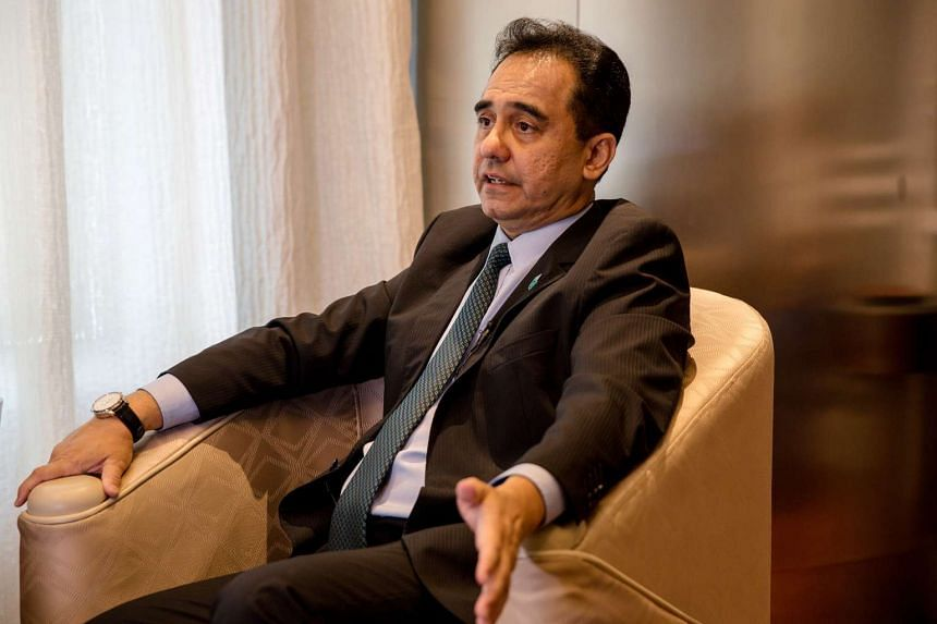 Wan Zulkiflee Wan Ariffin, president and chief executive officer of Petroliam Nasional Bhd, at an interview in Kuala Lumpur, Malaysia, on March 31, 2017.