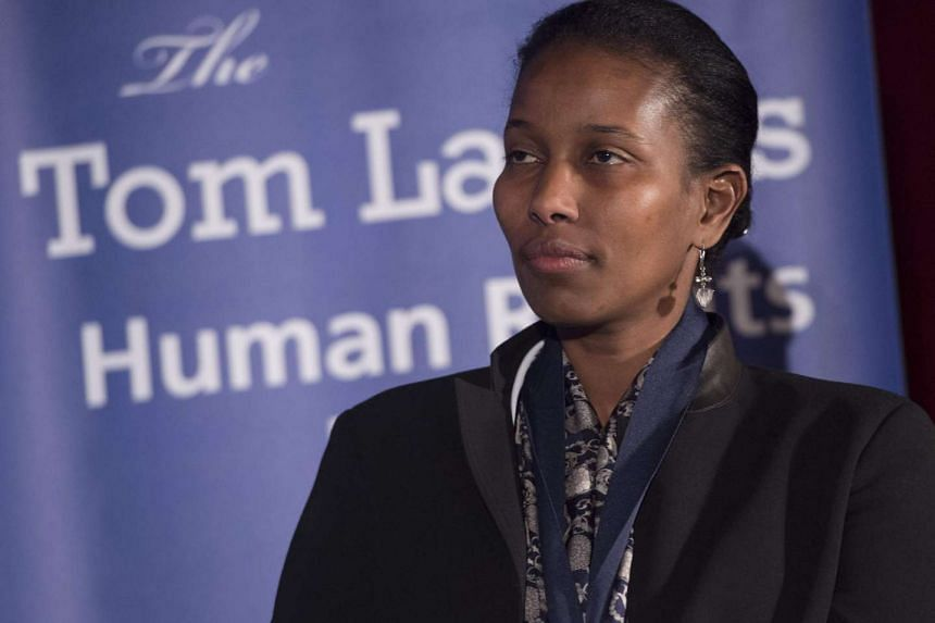 Ayaan Hirsi Ali was due to appear on a current affairs show on April 3 before speaking engagements later in the week.