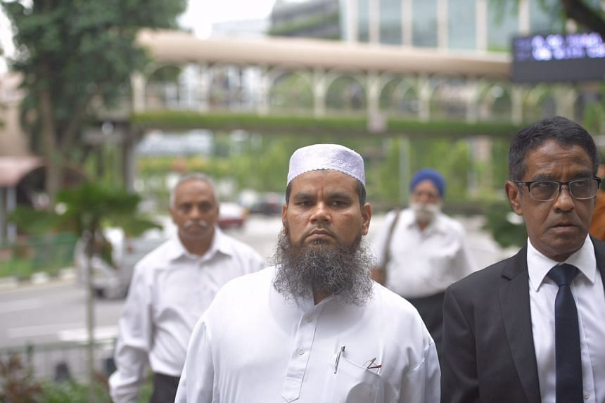 Imam Nalla Mohamed Abdul Jameel was charged at the State Courts on April 3, 2017, for insulting Christians and Jews during his Friday sermons at a mosque.