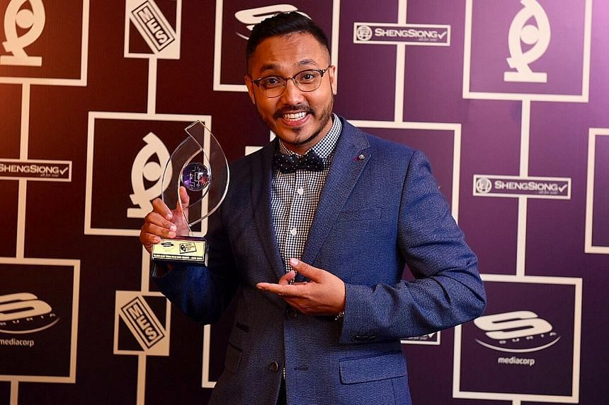 Drama-comedy Kisah Tok Kadi wins big, with Malaysian actor Beto Kusyairy picking up Best Actor In A Leading Role (Drama Series) and Sufian Ahmad (above) clinching Best Actor In A Supporting Role (Drama Series).
