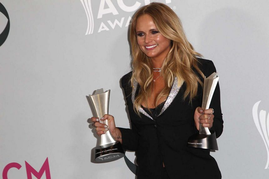 Miranda Lambert won Album Of The Year and Female Vocalist Of The Year.