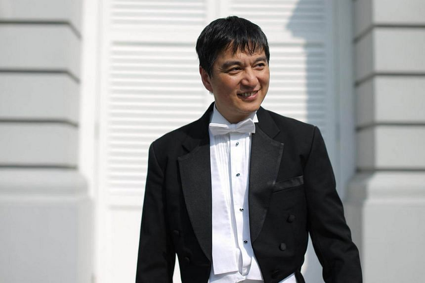Lan Shui, Singapore Symphony Orchestra music director and conductor.