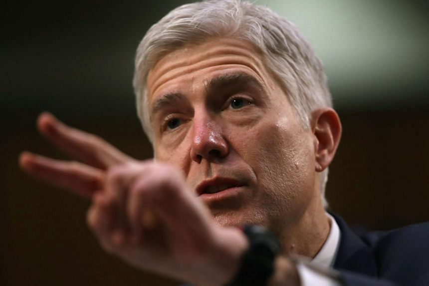 Judge Neil Gorsuch testifies during the third day of his Supreme Court confirmation hearing before the Senate Judiciary Committee, on March 22, 2017.