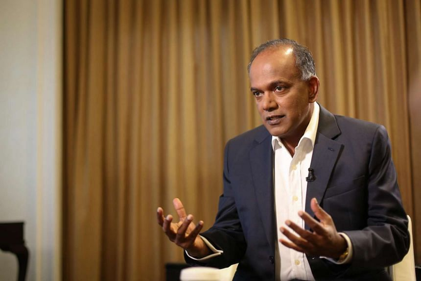 Law and Home Affairs Minister K. Shanmugam said a review is needed as fake news can have real consequences.