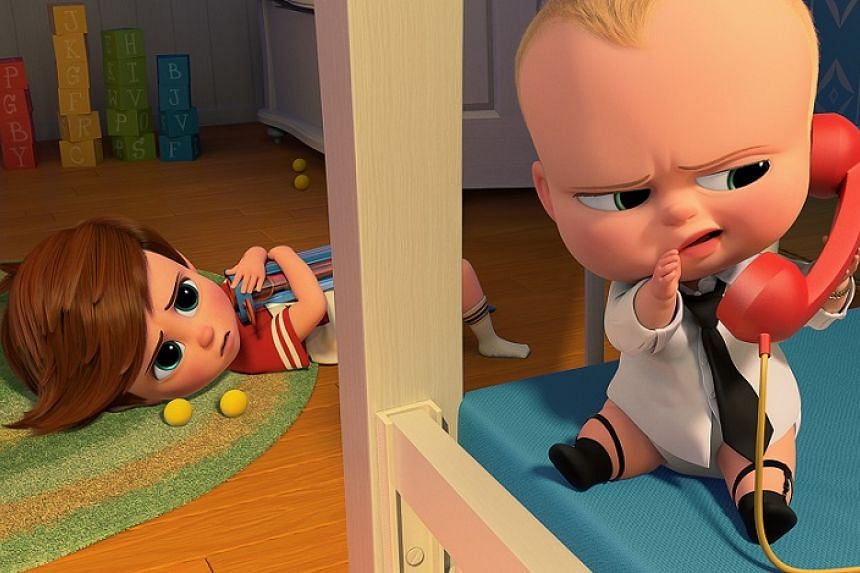 The Boss Baby pushed past Beauty And The Beast to be the No. 1 movie in North America.