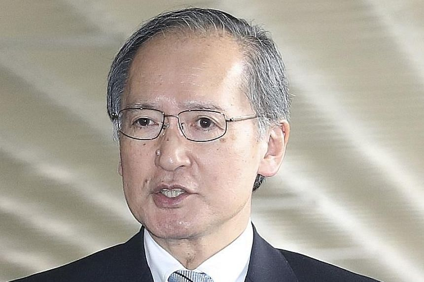 Japan said envoy Yasumasa Nagamine needs to be present at a time of political flux in South Korea.