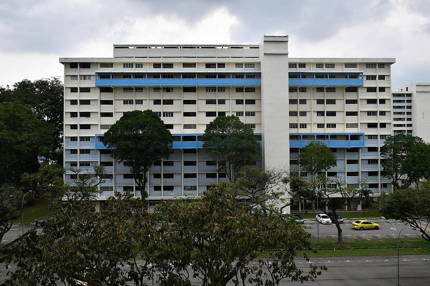 Mr John Huang Shuai, 28, is one of the affected residents. The HDB said 220 PPHS households have rented units at the Dover Road site, with most moving on to their newly completed homes.