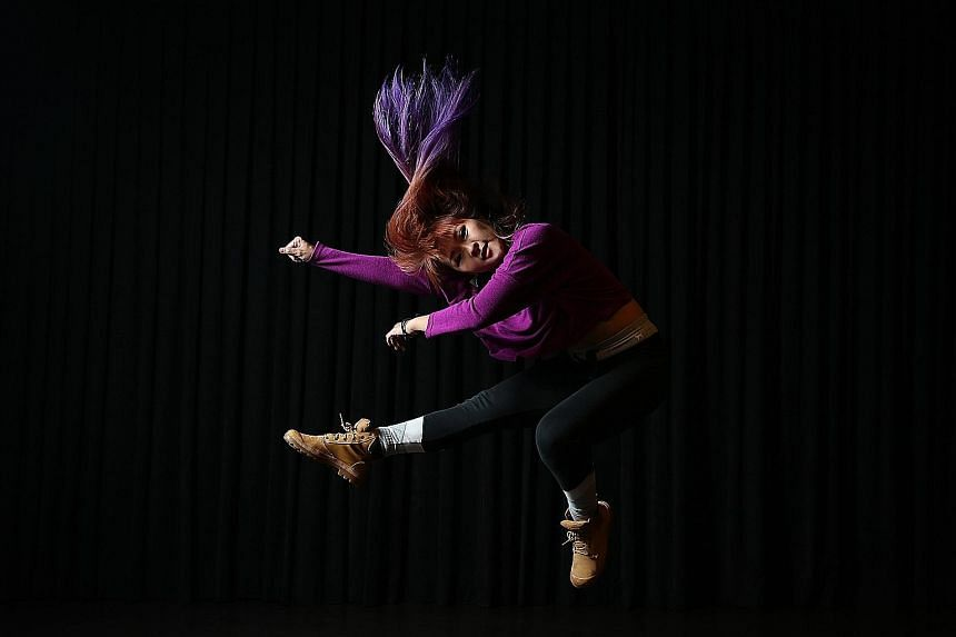Leaps can lead to bad falls: Ms Jasmine Lee
