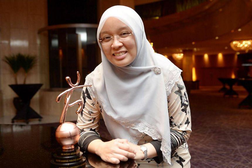 Dr Intan Azura Moktar, MP for Ang Mo Kio GRC, in a file photo taken in 2015.