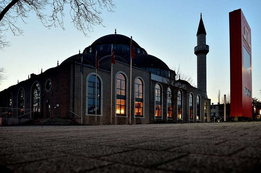 The DITIB Merkez mosque in Duisburg is one of Germany's largest Islamic places of prayer.