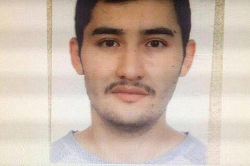 St Petersburg bombing suspect Akbarzhon Jalilov is shown in this police handout photo, obtained by 5th Channel, on April 4, 2017.