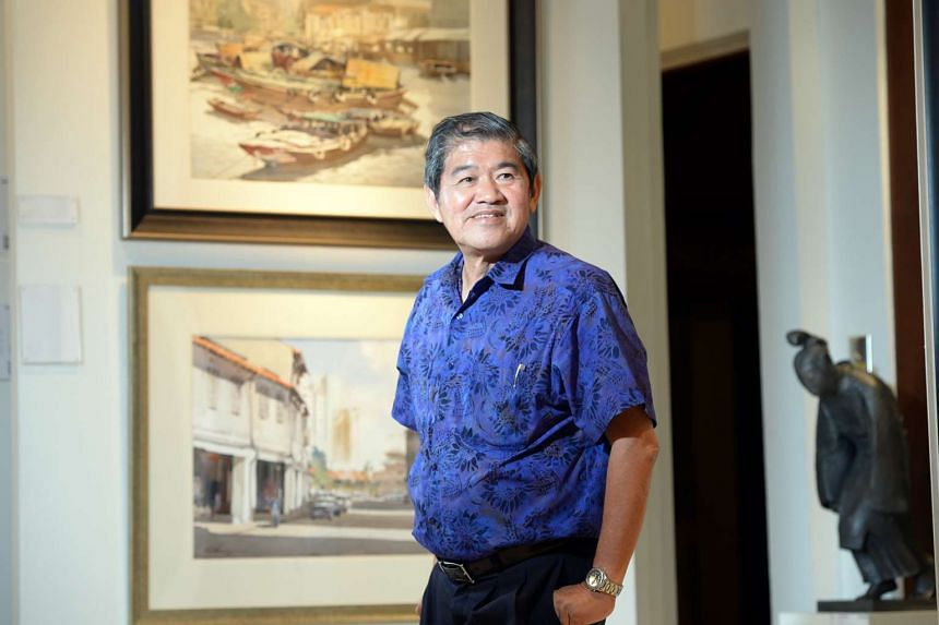 Singapore pioneer artist Ong Kim Seng, 72, set a new personal record when he sold a work for 725,000 HKD (S$135,045).