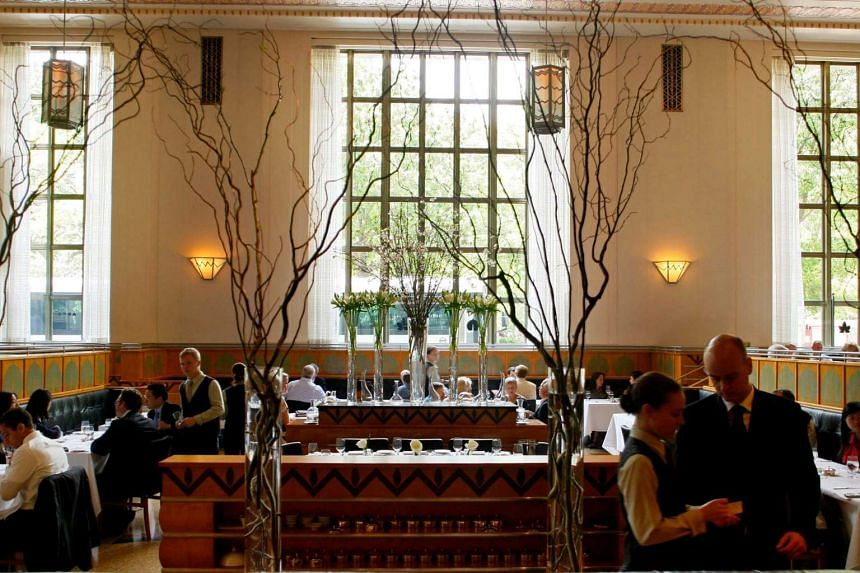 Eleven Madison Park, which broke into the top five in 2013, was third last year on the list.