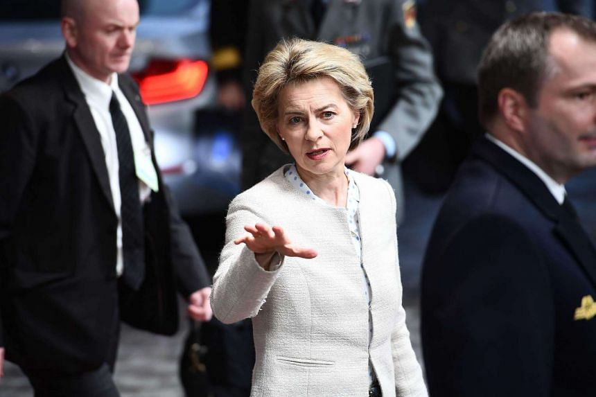 German Defence Minister Ursula von der Leyen says the military could be called in to help in the event of cyber attacks on governmental institutions.