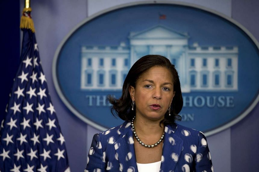 Responding to reports that she had sought to learn the identities of associates of Donald Trump caught up in surveillance of foreigners, Rice said that she had not acted with any political purpose but was just doing her job.
