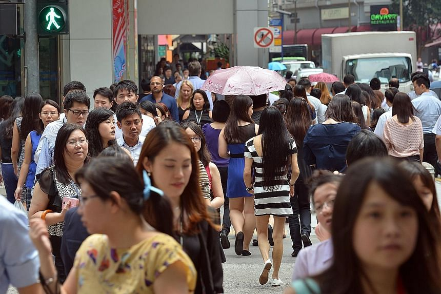 Manpower Minister Lim Swee Say said the Government's challenge is to help more women stay at work and to help those who have left work to return, especially mothers.
