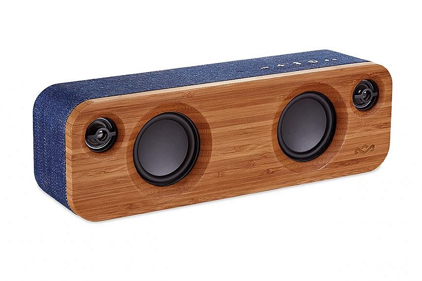 The Marley Get Together Mini Bluetooth speakers are designed for fuss-free set-up.