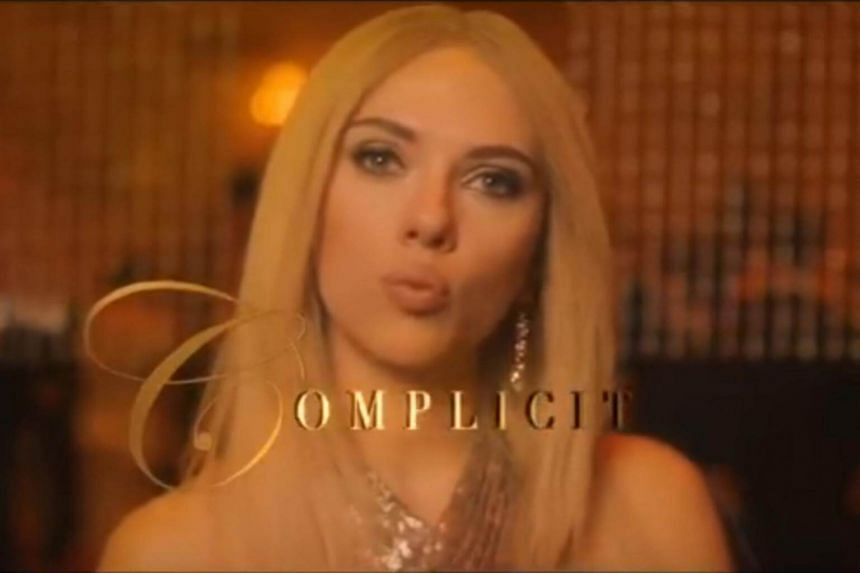A screengrab of Scarlett Johansson as Ivanka Trump in the Saturday Night Live parody.