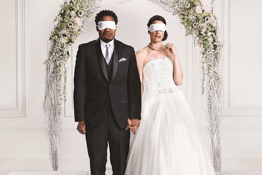 Australian television series Married At First Sight, where couples meet for the first time at the altar.