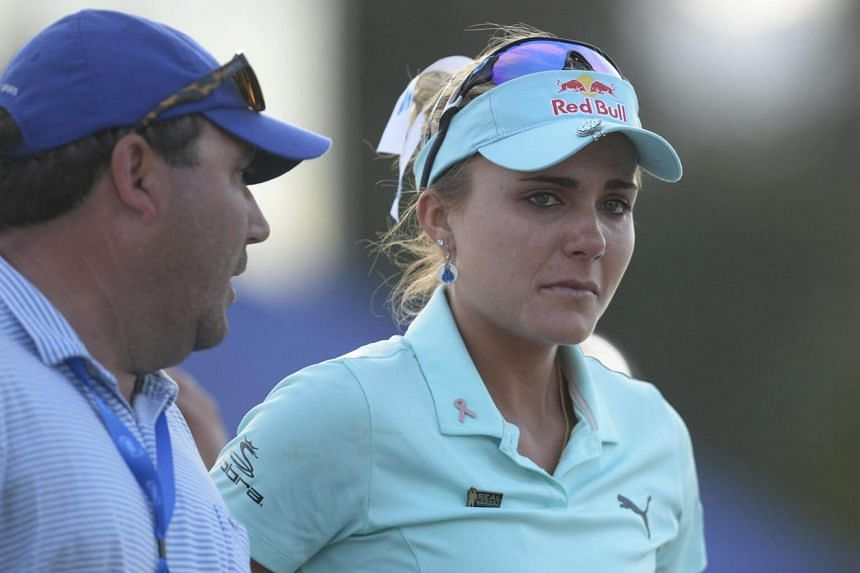 Lexi Thompson had six holes to play when her three-shot lead was wiped out by penalties for infringements committed the previous day.