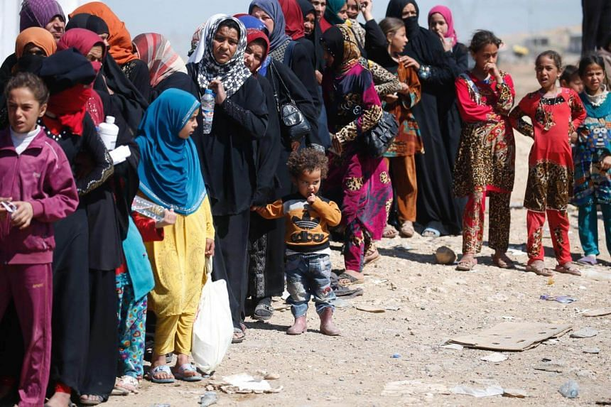 The rising number of refugees is straining humanitarian resources and leaving many in very difficult conditions.
