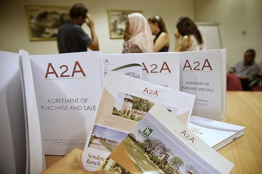 It is believed that many more investors in Singapore have invested with the property development and investment firm A2A.