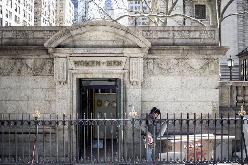 The Bryant Park public restrooms will reopen this month after a US$280,000 (S$392,000) makeover