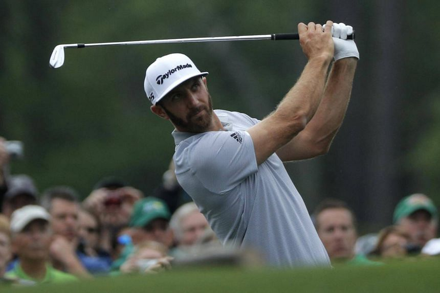 Dustin Johnson suffered a serious fall on a stairway, according to his agent, but is still hoping to take part in the tournament.