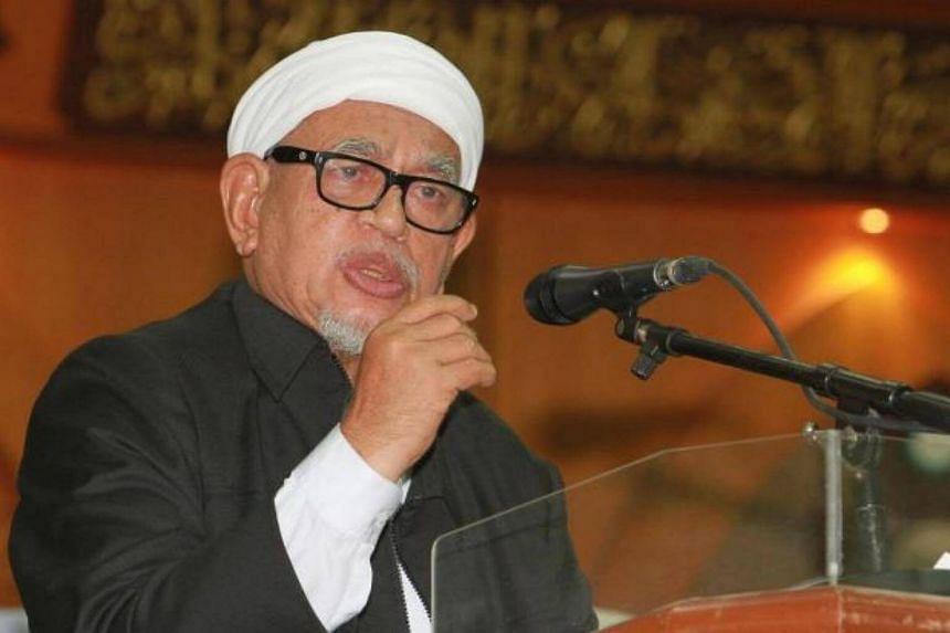 Parti Islam SeMalaysia's (PAS) president Datuk Seri Abdul Hadi Awang.