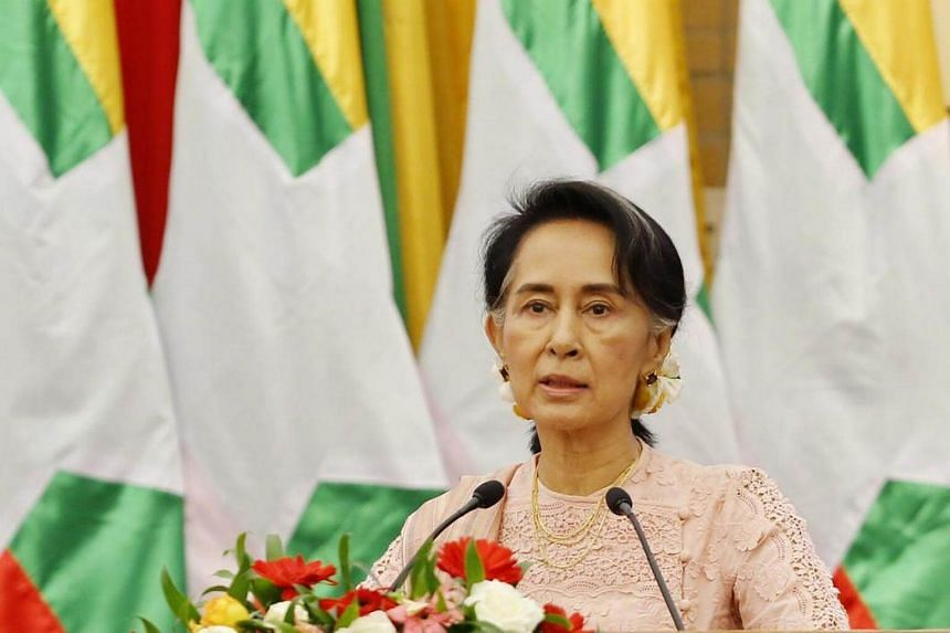 Myanmar leader Aung San Suu Kyi is facing international criticism for her government's handling of a crisis in the Muslim-majority Rakhine region.