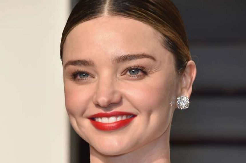 Replicate model Miranda Kerr's look (above) with a blusher that suits your skin tone.