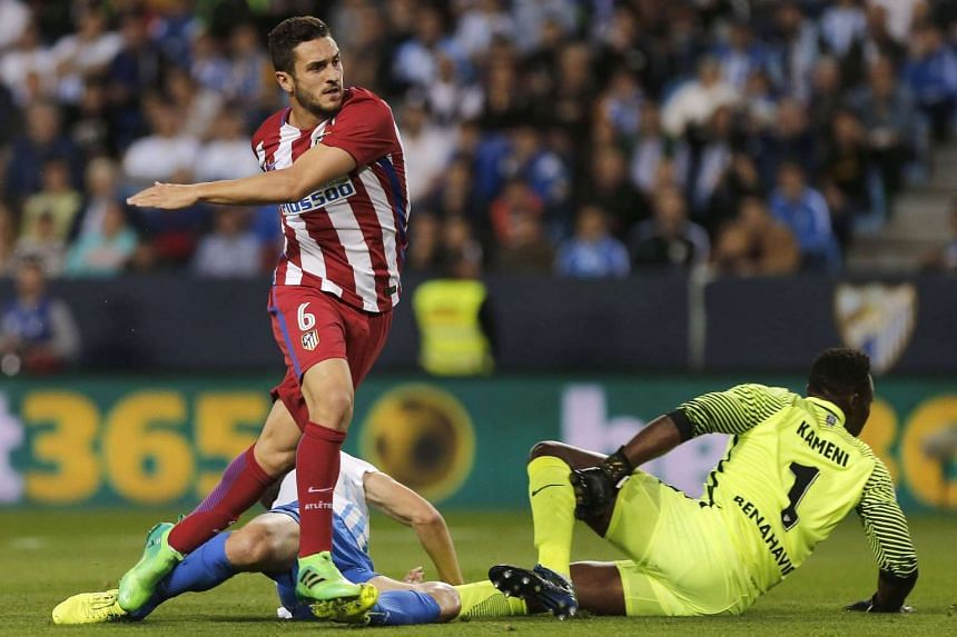 Atletico Madrid midfielder Koke has reported the robbery, which happened in a in a Madrid carpark.