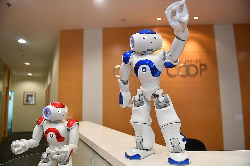 Nao can provide a range of information, from accounting firms to nearby restaurants. Crosscoop Singapore hopes Nao will help reduce the monthly working hours of each receptionist from 160 hours to 150 hours.