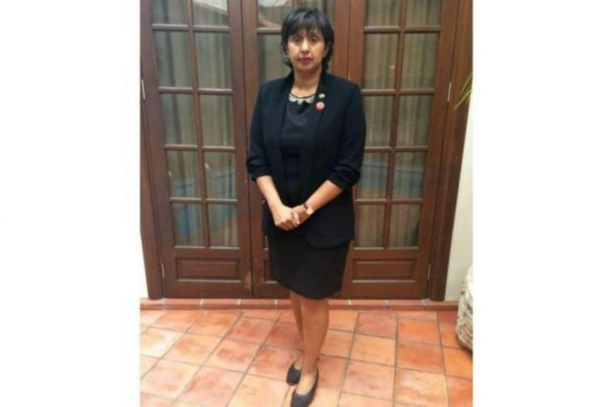 Lawyer Meera Samanther said she was wearing her usual court attire, which included a knee-length skirt.