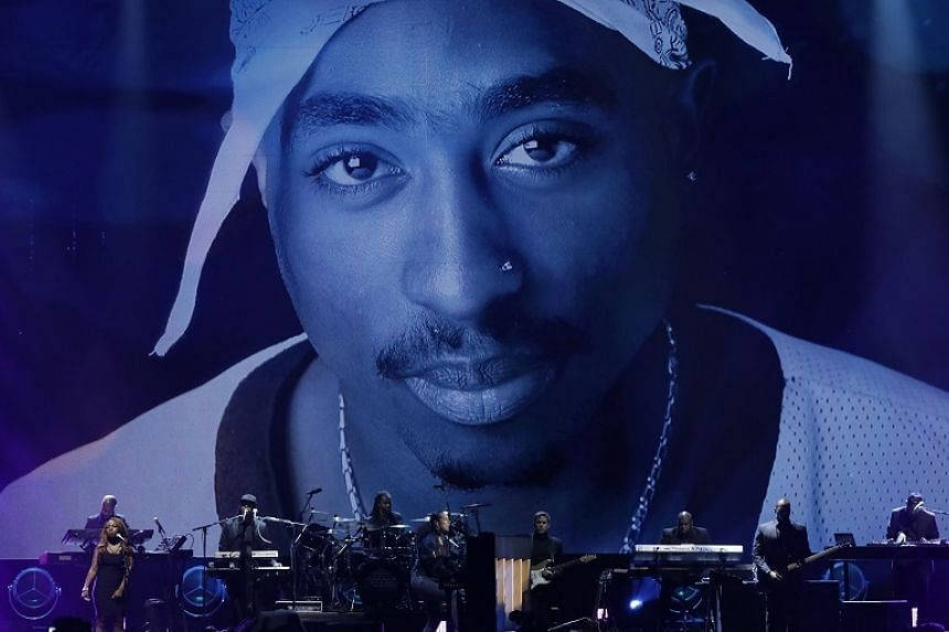 The late Tupac Shakur was among the inductees honoured at the 32nd Annual Rock & Roll Hall of Fame Induction Ceremony on April 7, 2017.