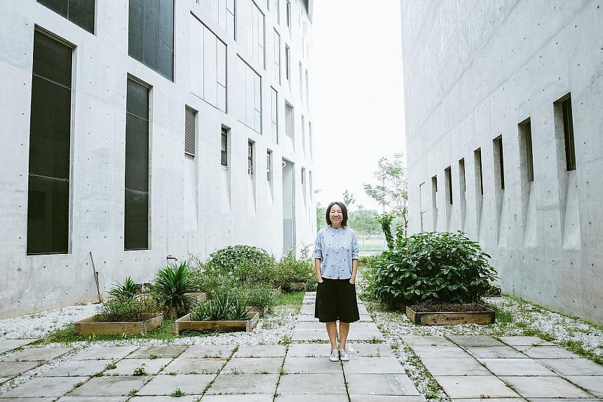 """Edible gardens need to be watered daily, pruned and checked for diseases and pests, among other requirements. Ms Cynthea Lam, founder of urban-gardening company Super Farmers, has this advice for newbie gardeners: """"The key is to try again. Keep exper"""