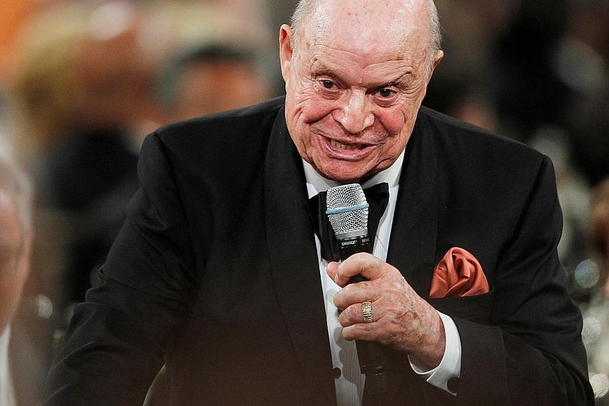 Don Rickles made his debut appearance on The Tonight Show in 1965.