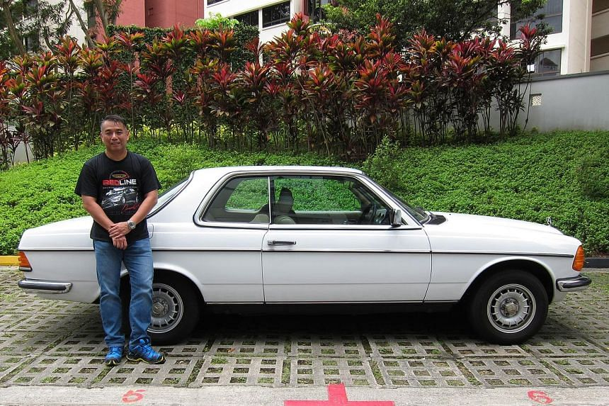 Mr Anthony Yu has a soft spot for his 1981 Mercedes-Benz 230CE.