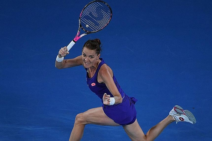 Poland's Agnieszka Radwanska, the world No. 8, is 28 and says she has no plans to keep playing like Serena Williams, who will be 36 when the WTA Finals come around, especially since the younger players have become far more competent and dangerous.