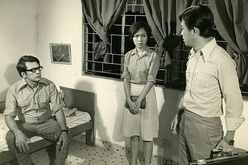 A still from Two Sides Of The Bridge, directed by Lim Meng Chew and Tan Chang Meng.