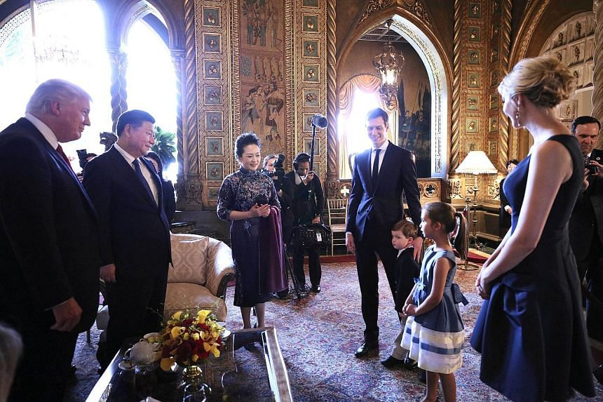 Arabella, five, and Joseph, three, sang Chinese folk song Mo Li Hua (Jasmine Flower), and recited the Chinese classic text San Zi Jing, or Three Character Classic, in front of Chinese President Xi Jinping and his wife Peng Liyuan. The children are se