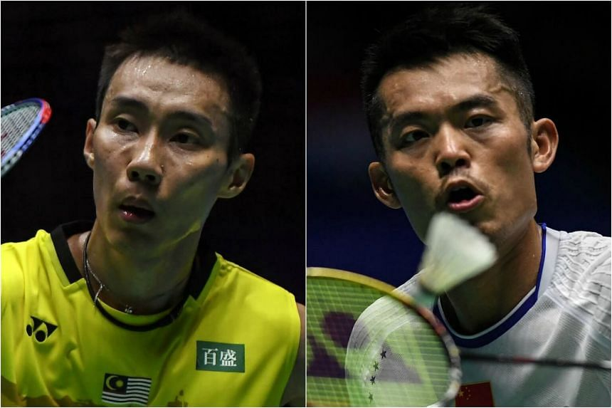 Malaysian Lee Chong Wei (left), the top seed, is gunning for his 12th Malaysia Open title, while seventh-seeded Lin Dan of China is going for his first.
