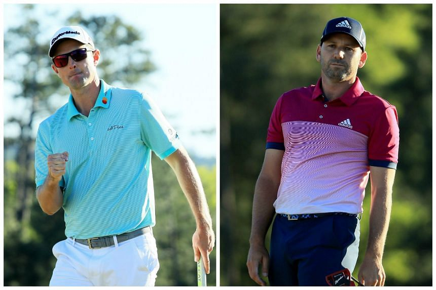 Rio Olympics champion Justin Rose (left) and Sergio Garcia are tied for the lead entering the final round.