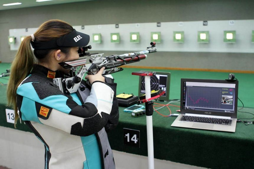 Martina shot 415.6 in New Delhi to finish 10th out of 41 competitors in the women's 10m air rifle qualifiers, and also made her international debut in the 50m rifle three positions at the Feb 22-March 4 meet.