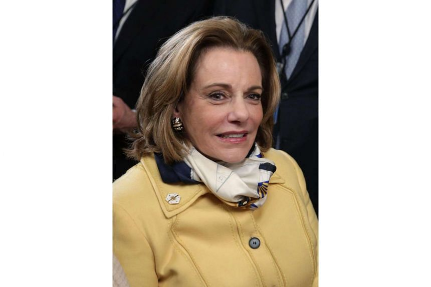 Deputy National Security Adviser K. T. McFarland at a swearing-in ceremony on March 2.